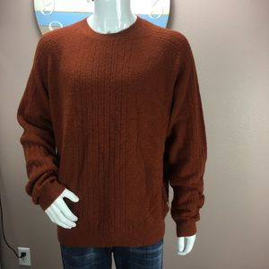 Exofficio Mens Large Wool Blend Crewneck Sweater